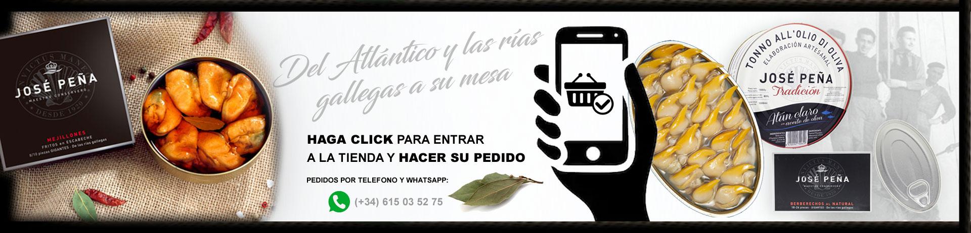 HAGA CLICK PARA ENTRAR A LA TIENDA Y HACER SU PEDIDO ONLINE